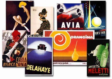 art deco - vintage Cassandre posters