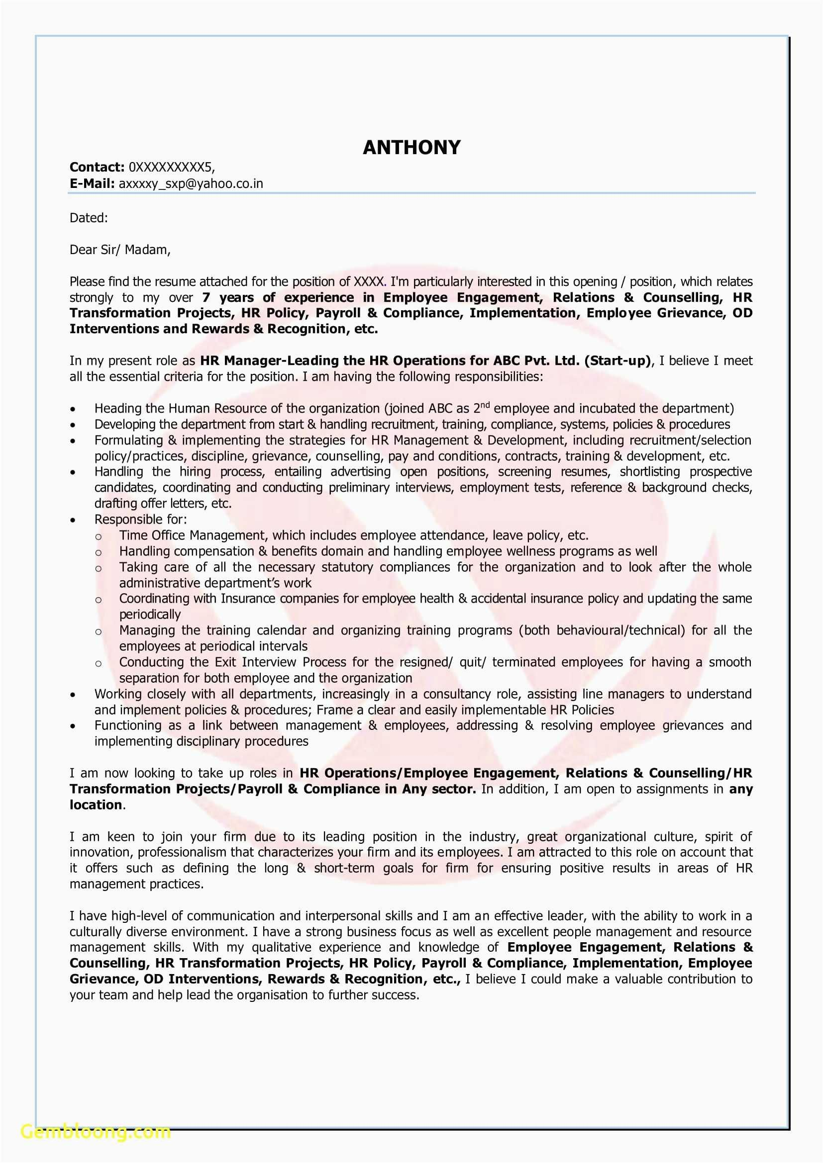 25 Cover Letter Generator In 2020 Resume Template Examples