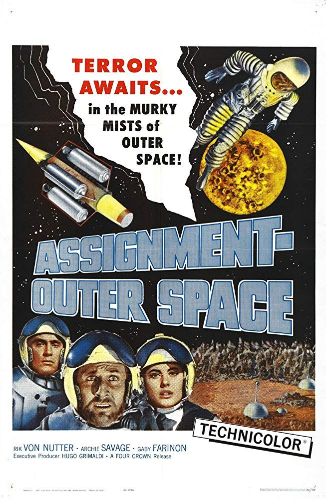 Assignment: Outer Space (1960) Space Men | Outer space ...