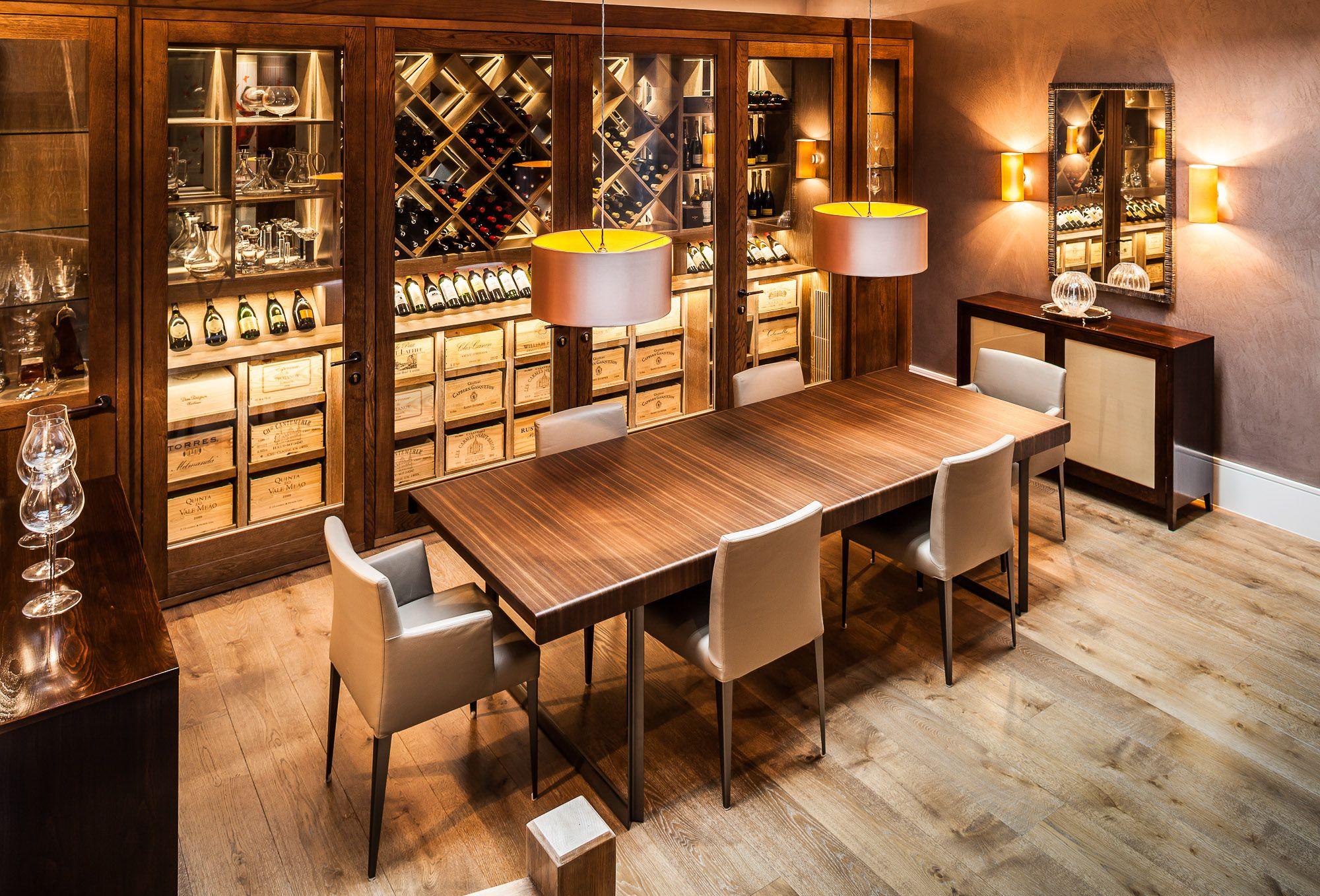 Quarrendonstg wine cellars and displays