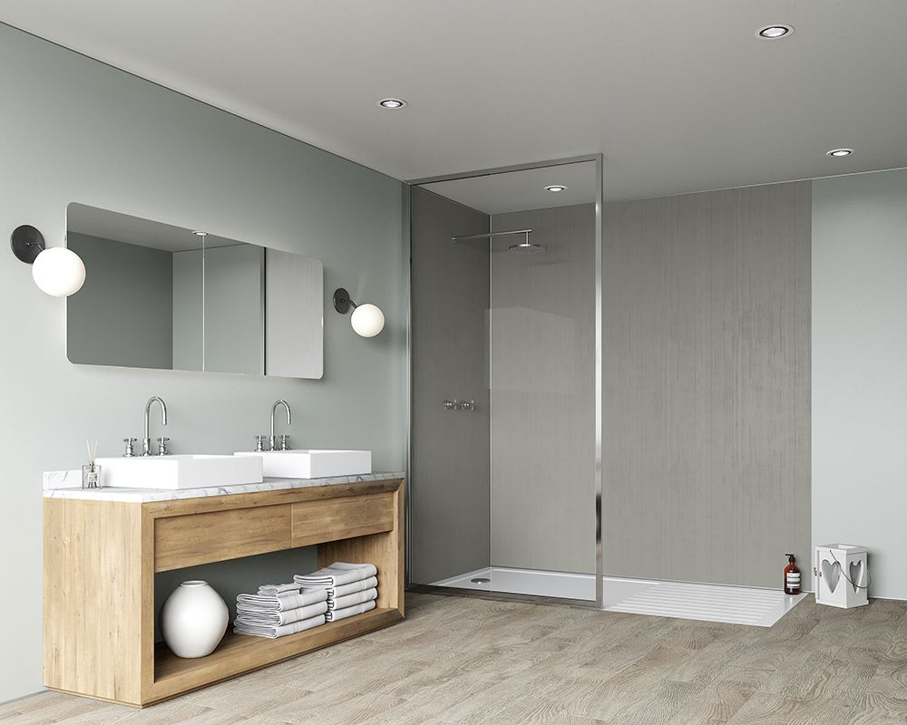 Wall panels are an excellent alternative to tiles due to ...