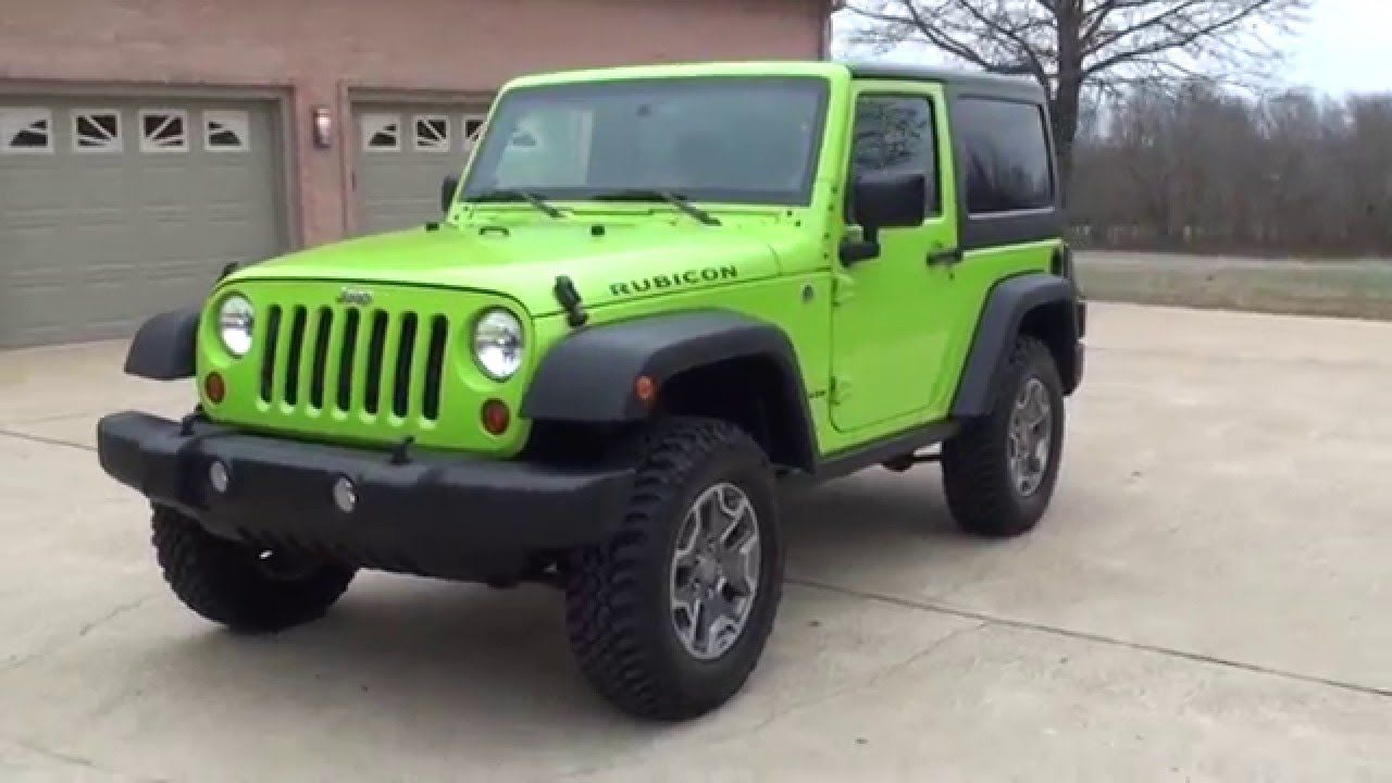 Awesome Green Jeep For Sale