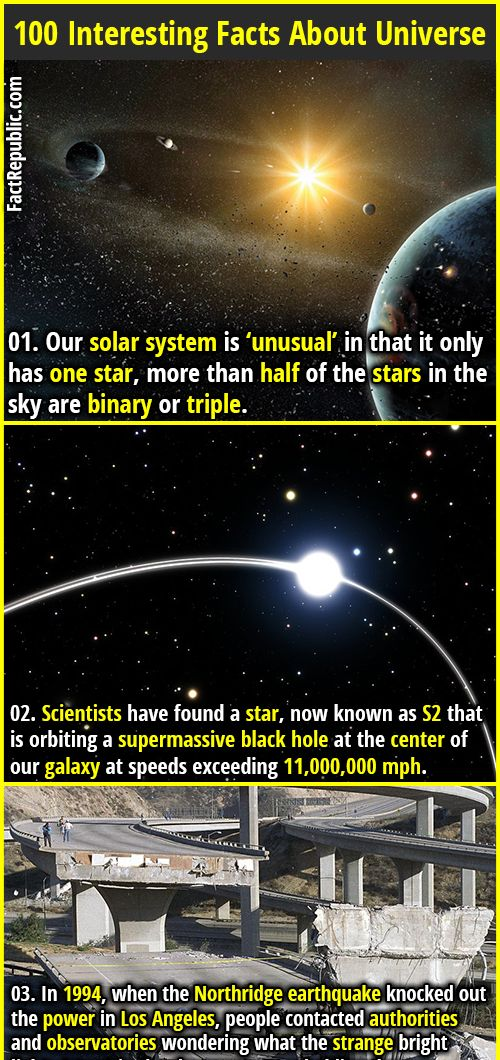 100 interesting facts about universe articles pinterest solar