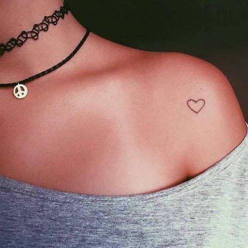coeur encre | tattoo | pinterest | tatouage, petit tatouage et