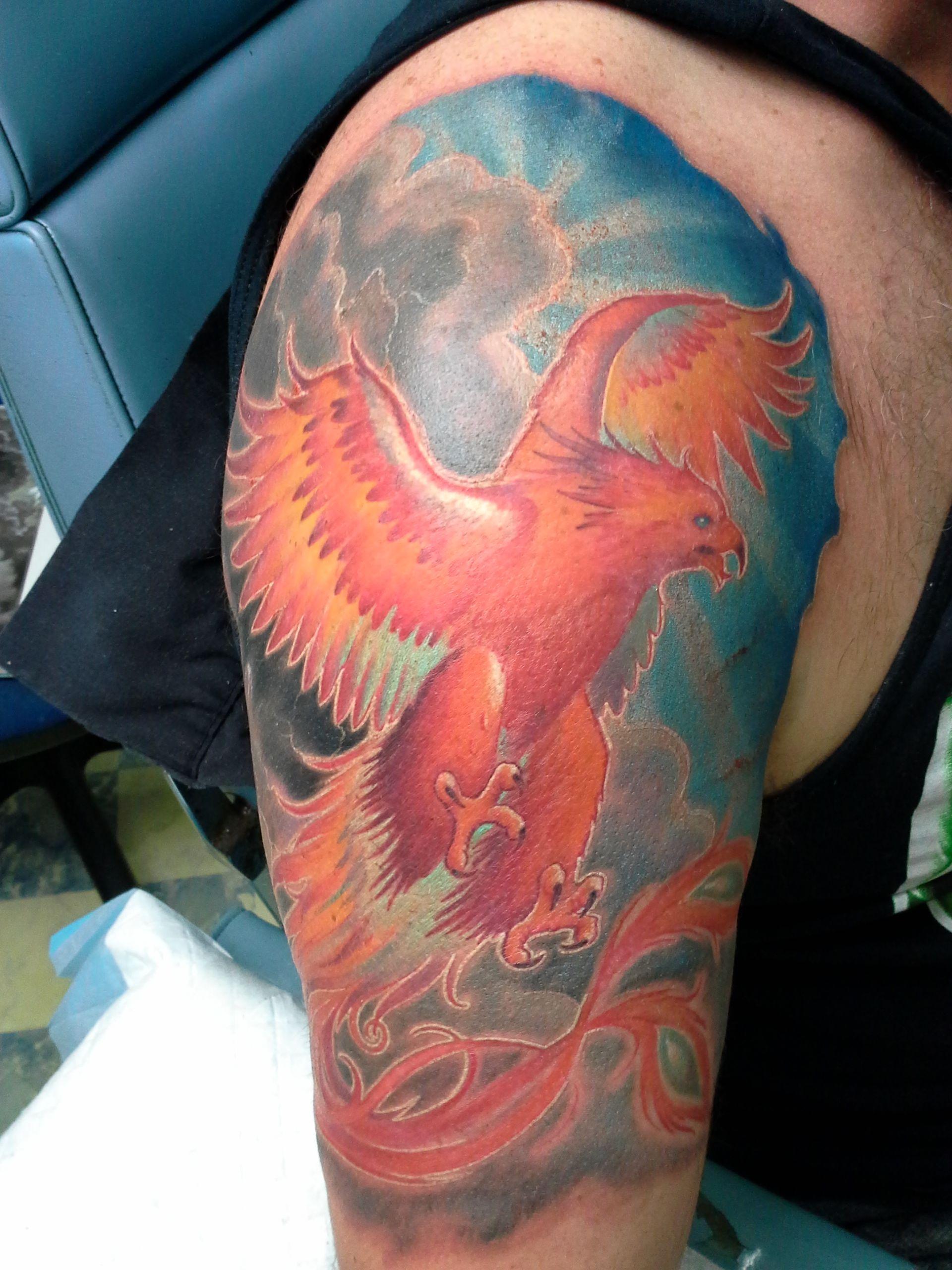Phoenix tattooist daniel brandt electric expressions