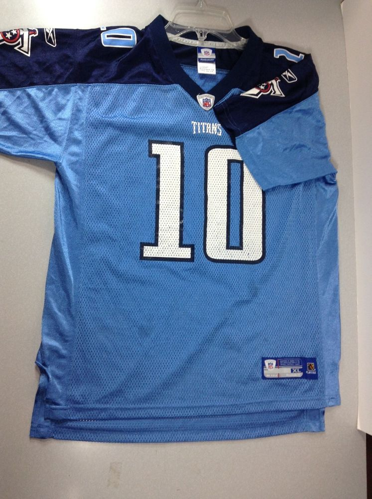 Tennessee Titans Jersey Vince Young  10 Youth XL 18-20  Reebok   TennesseeTitans 4c9c30344