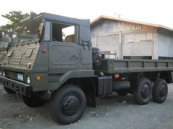 Sell Surplus Japanese SKW Military Trucks 6 X 6 | Mobile
