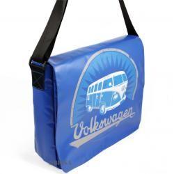 Photo of Vw Bulli T1 Schultertasche groß Vintage blau