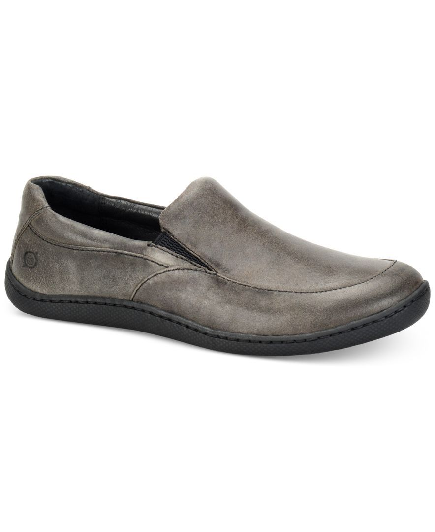 Born Men's Woodard Bark Loafers