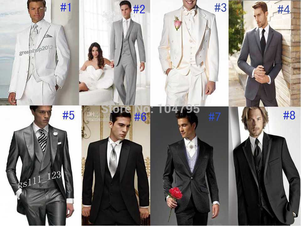 Diffe Unique Styles Groom Tuxedos Best Man Groomsmen Men Wedding Suit 2 With Matching Tie Of Bridesmaids
