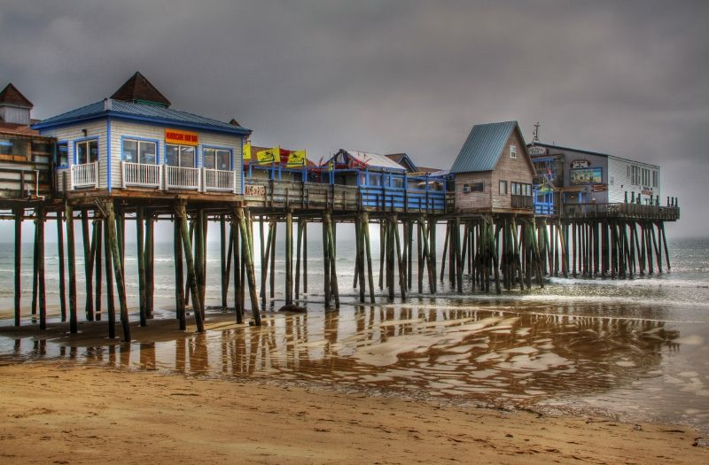 Old Orchard Beach Pier Maine