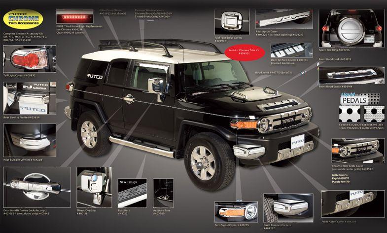 Toyota Fj Cruiser Accessories >> Fj Cruiser Accessories Toyota Accessories Fj Cruiser Accessories