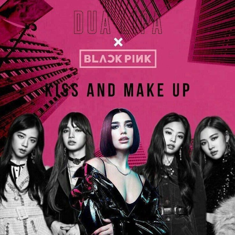So Dua Lipa X Blackpink Music Video Is Coming It Was