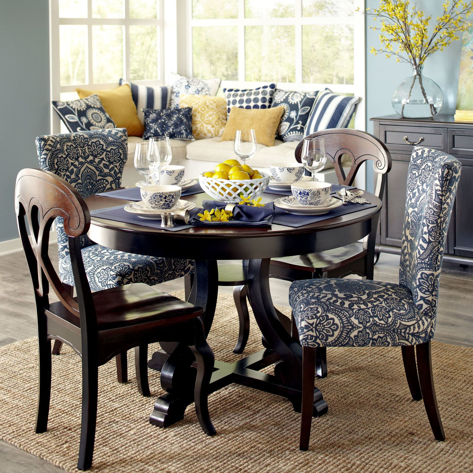 Marchella Rubbed Black Dining Tables Pier 1 Imports With Images Dining Room Furniture Sets Dining Table Black Dining Room Furniture