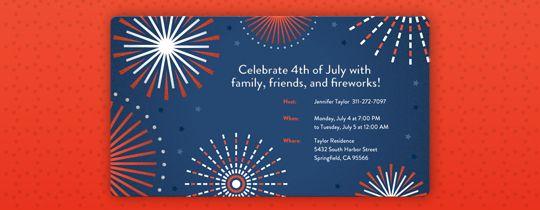 patriotic invitations templates