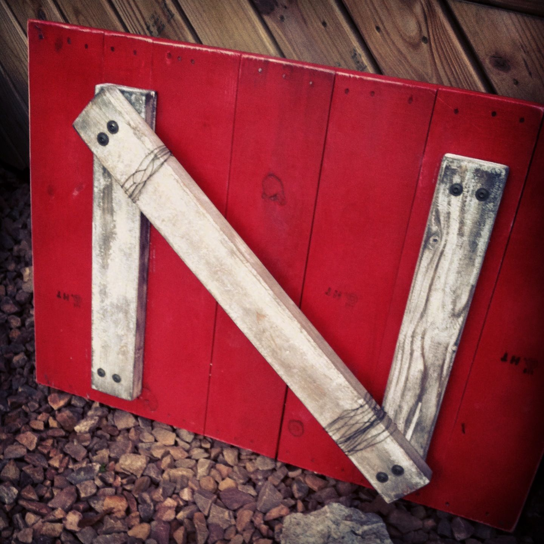 Nebraska Husker Pallet Sign. Gbr Projects