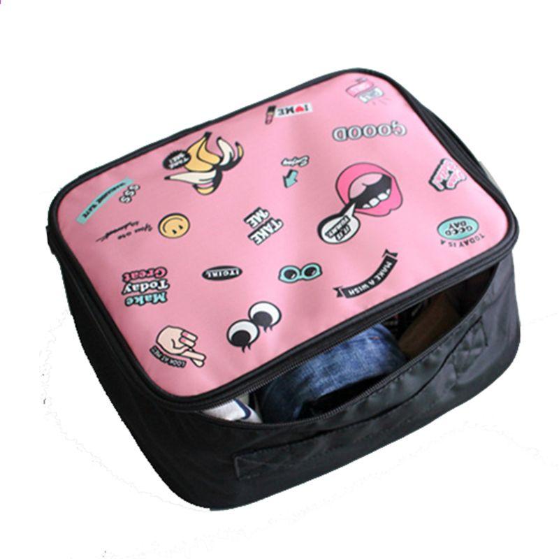 Resväska Förvaringskubar Påse Väska Väska Väskor Unisex Klädsel  Klassificering Organis Väska hållbar Hög kapacitet 1d2bd0abd934b