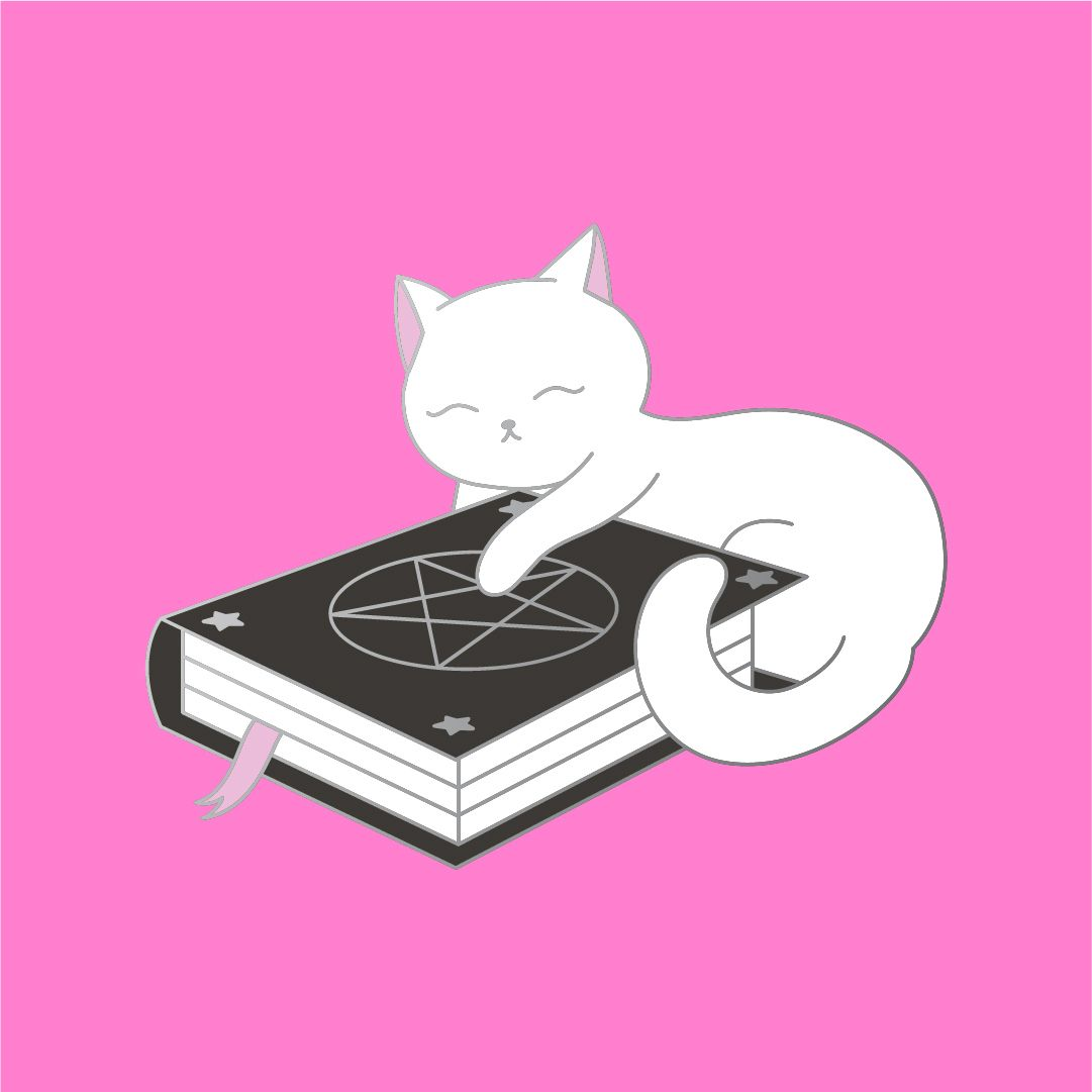 Halloween 2020 Cst Spellbook Kitty by Dbl Feature in 2020 | Halloween everyday