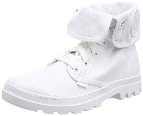 Palladium Baggy, Damen Desert Boots, Weiß (White/White), 41 EU (7 Damen UK)