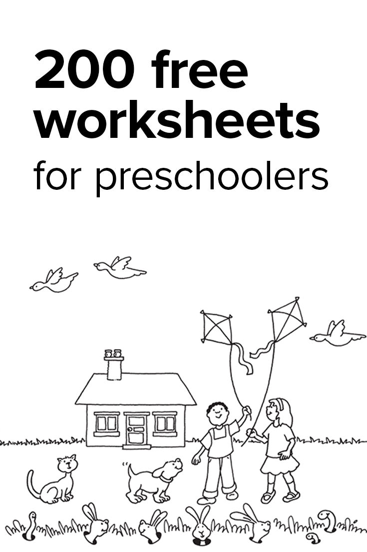 boost your preschoolers learning power and get them ready for kindergarten with free worksheets in the