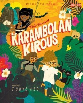 Karambolan kirous  Lennokas koko perheen viidakkoseikkailu!  Hauska ja hyväntuulinen seikkailu, jossa Topi astuu elokuvakankaan läpi sademetsään pelastamaan sankariaan, viidakkotyttö Tallulahia.