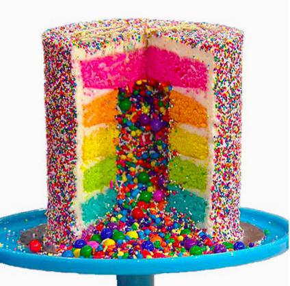 Photo of Explosion cake