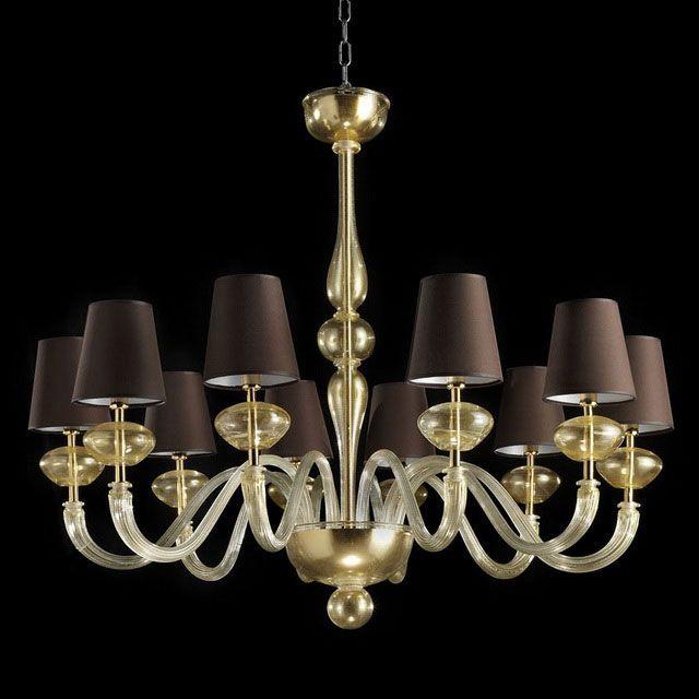 Castore Murano glass chandelier Chandeliers, Lampadari
