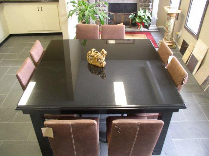 Granite Dining Room Tables Granite Dining Table Minimalist