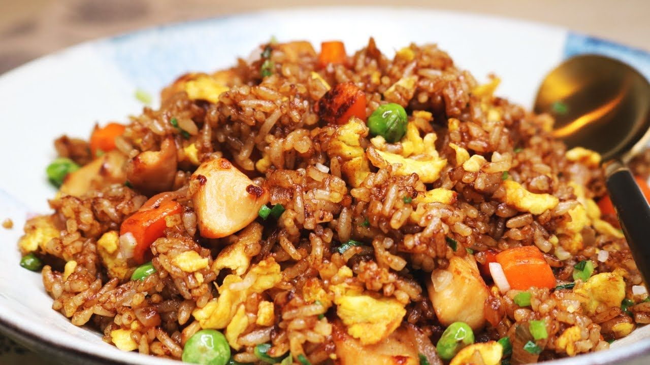 Better than takeout and easy chinese chicken fried rice recipe chinese chicken fried rice recipe youtube forumfinder Image collections