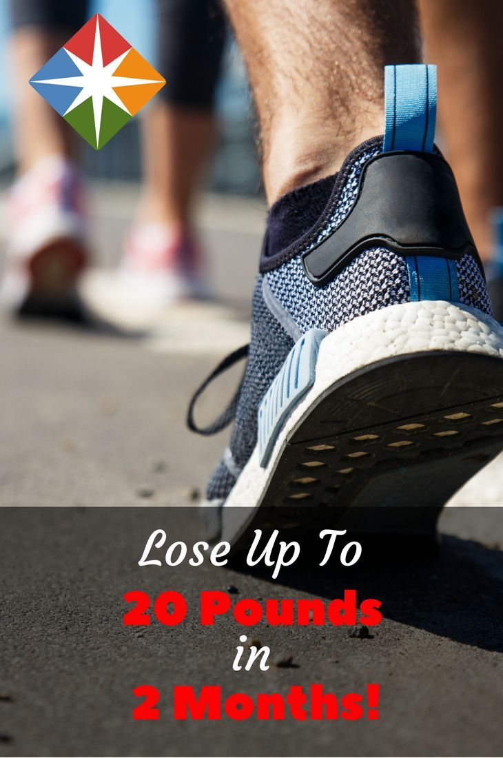 Walk Off Up To 20 Pounds In 2 Months Pinterest Exercises