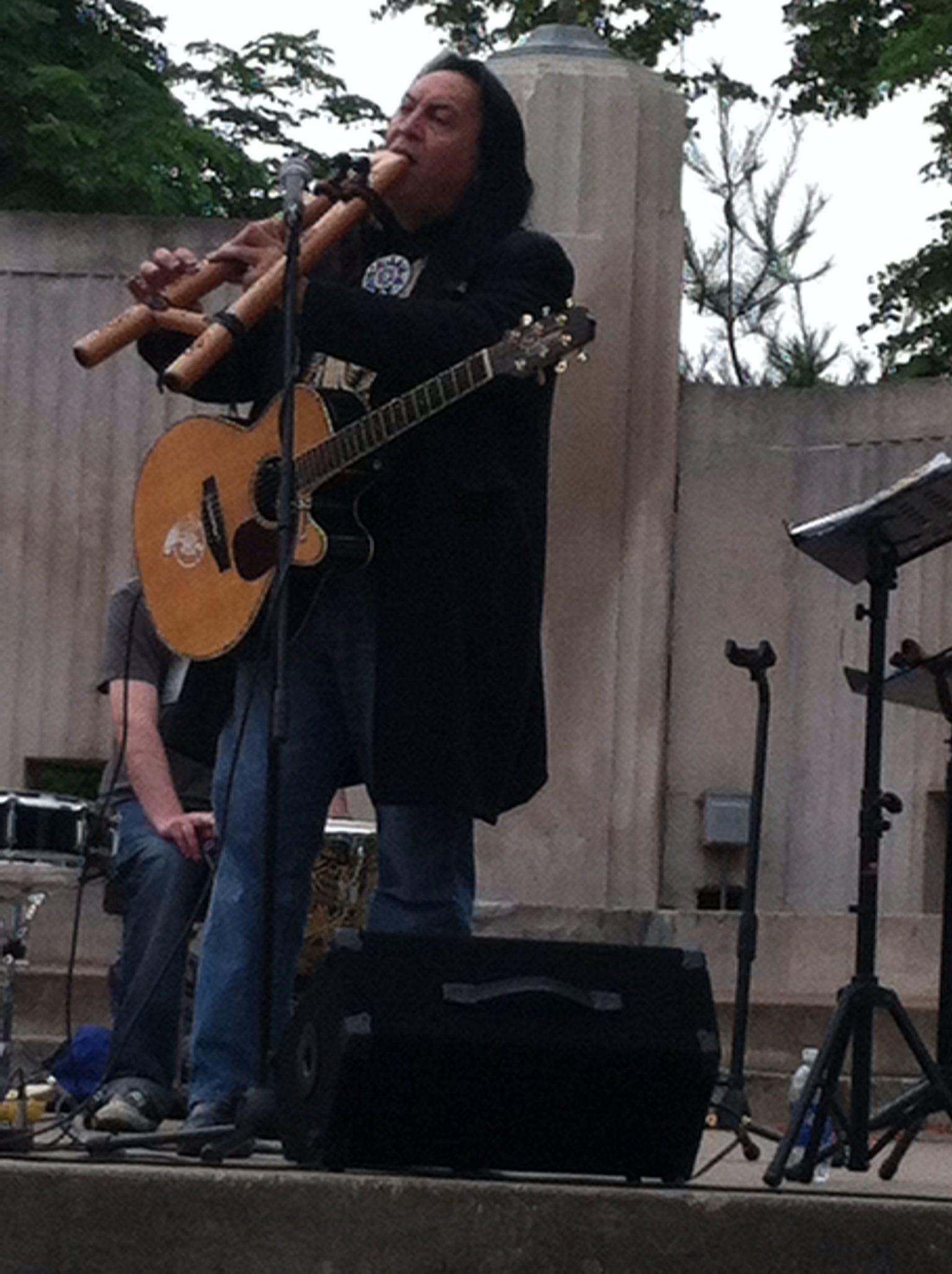 Bill miller la crosse wi 2012 native american flute