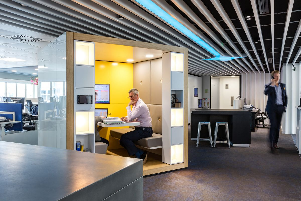 Fourfront Group London England Office Design Pinterest Booth