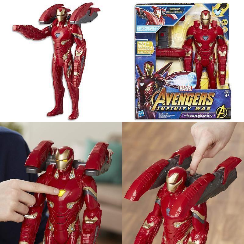 Marvel Avengers Infinity War Mission Tech Iron Man Figure