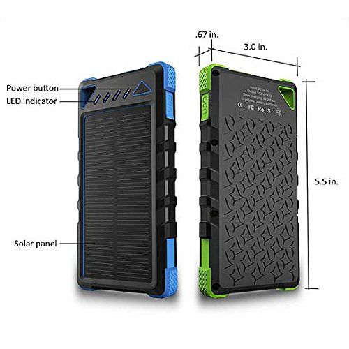 Cell Phone Charger Solar Plugin 8000mah Dual Usb Best Of Portable Battery Chargers Rugged S Cell Phone Charger Portable Battery Charger Solar Charger