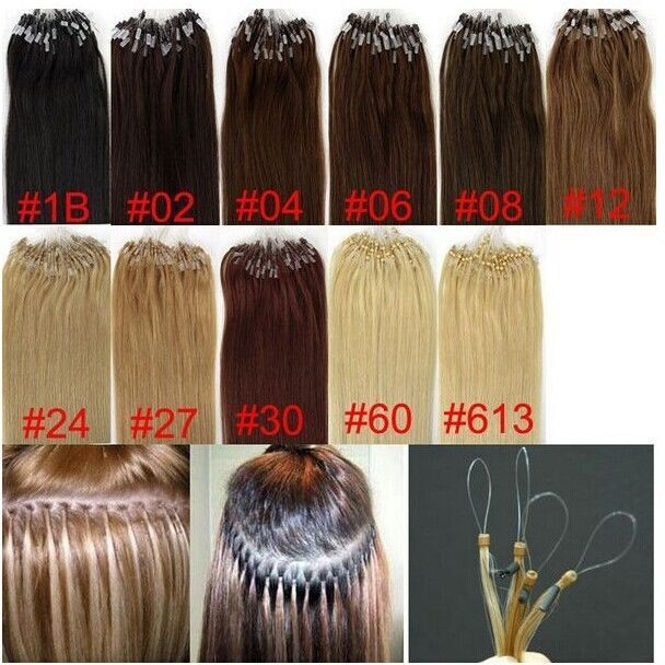 7a 100s200s Micro Loop Ringbeads Human Hair Extension 182022