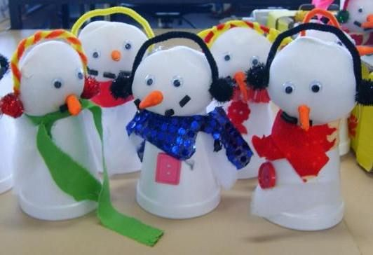 Simple Winter Crafts For Kids 532x364