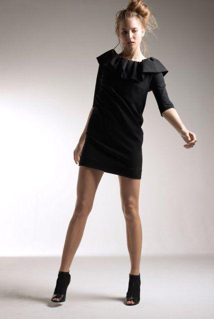 7eb90e68214 On a craqué pour les petites robes noires de Delphine Manivet pour ...