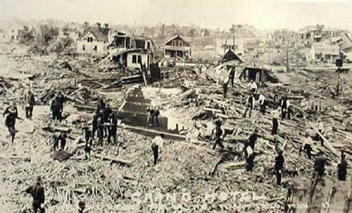 Grand Hotel Fergus Falls Minnesota Tornado Jun 1919