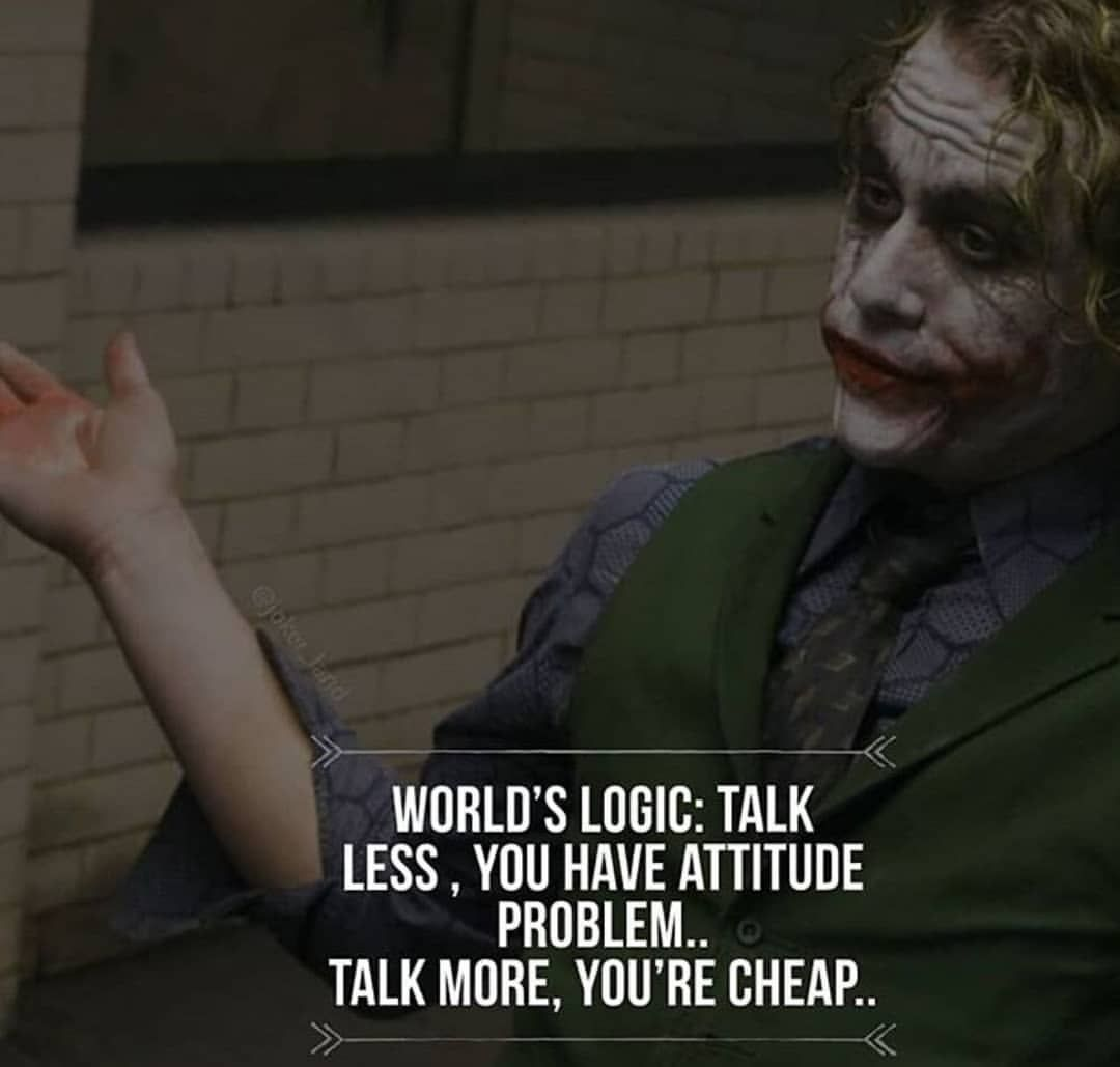 Joker The Sarcastic Joker Instagram Photos And Videos Joker