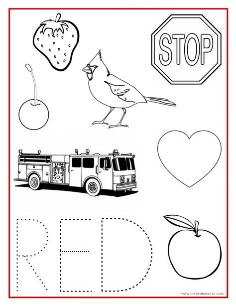 Color Activity Sheets | coloring sheets | Pinterest