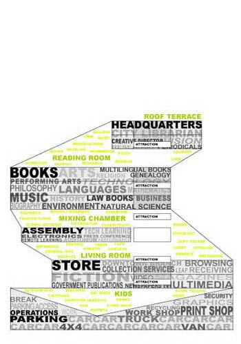 architecture section diagram labeled ship diagrammatic by oma architectural pinterest