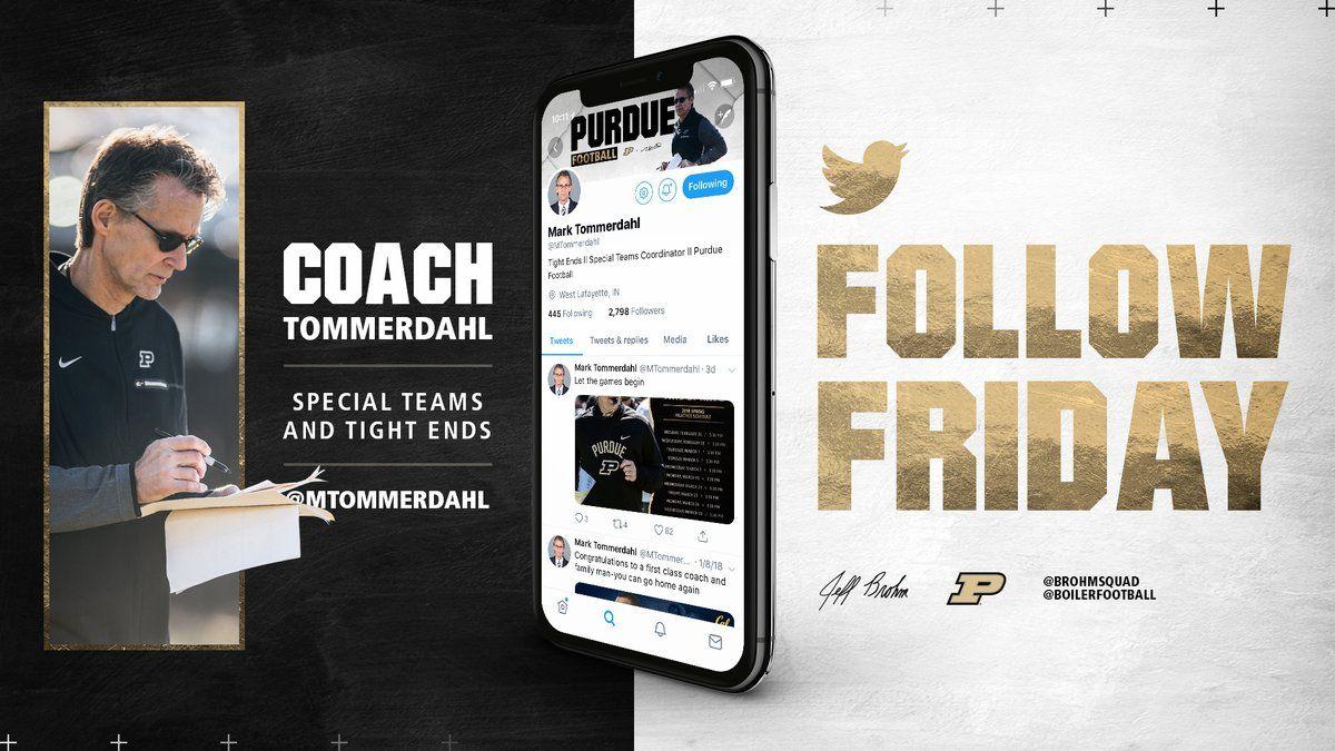 Purdue Football (BoilerFootball) Twitter Purdue