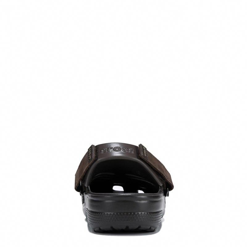 cc8f3996019c Crocs Men s Yukon Vista Clog Shoes (Espresso Espresso)  espresso ...
