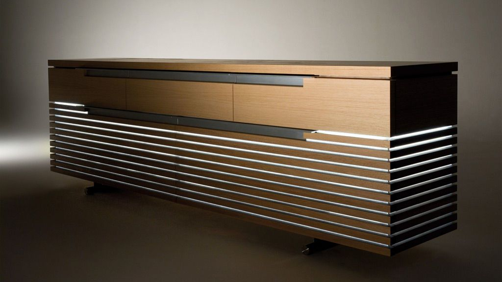modern sideboard holz tosai by peter maly conde. Black Bedroom Furniture Sets. Home Design Ideas