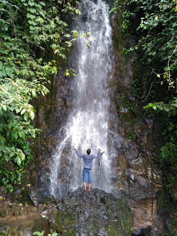 Curug Cilame Dan Panorama Pabangbon Papa Leuwiliang Bogor Jawa Barat Panorama Waterfall Outdoor