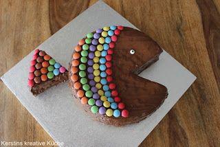 Kerstins Kreative Kuche Regenbogenfisch Fur Den Kindergeburtstag