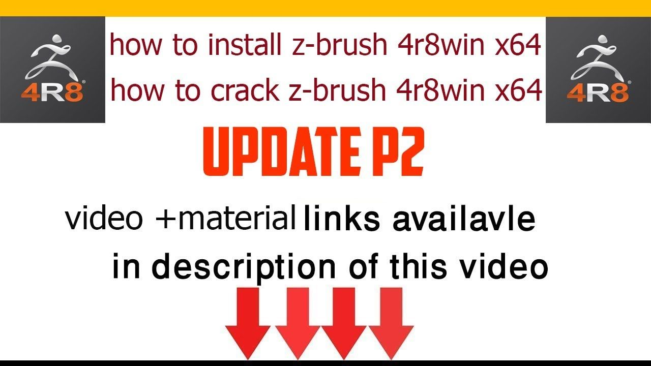 zbrush 4r6 crack download free