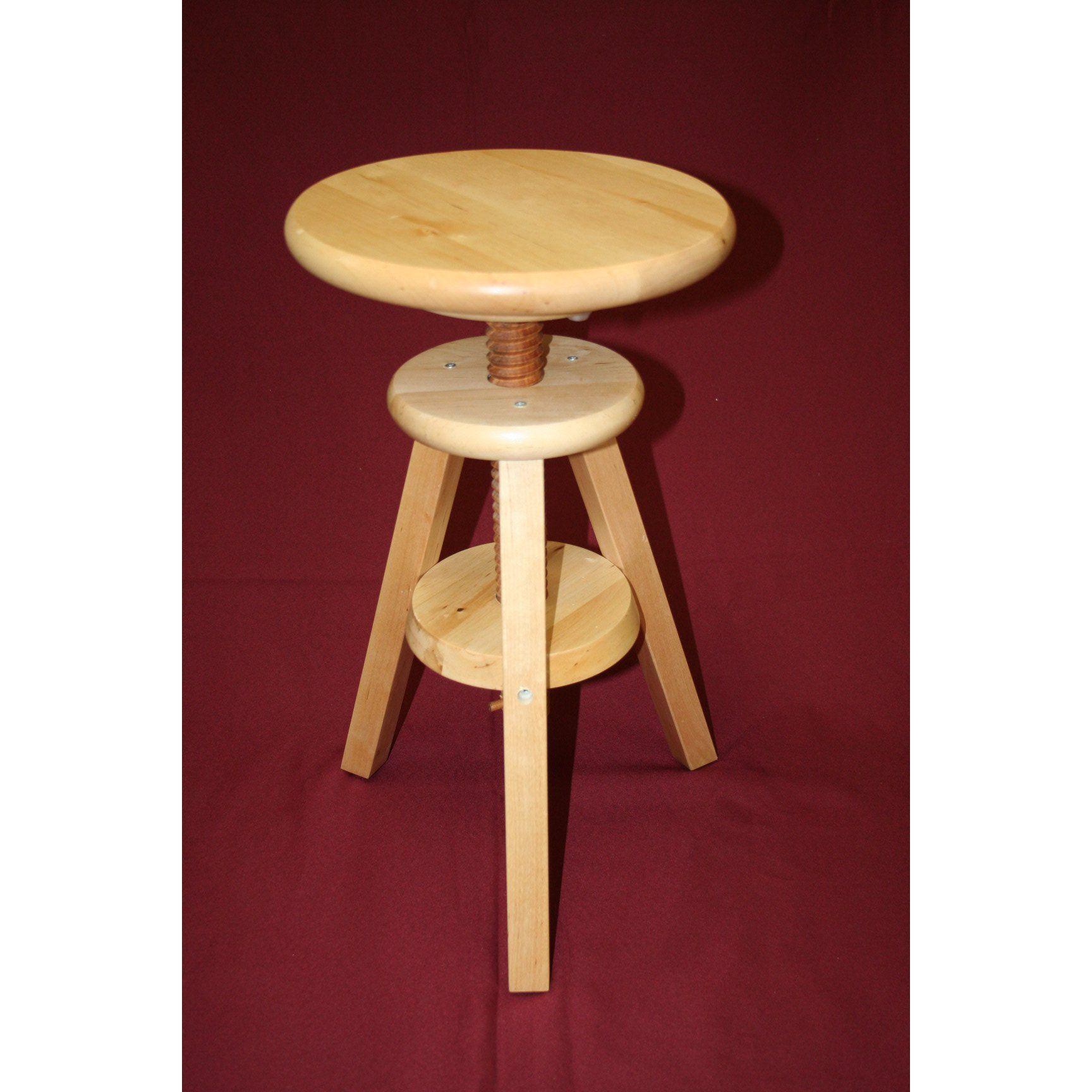 Wayfair 50 Wooden Adjustable Height Swivel Bar Stool