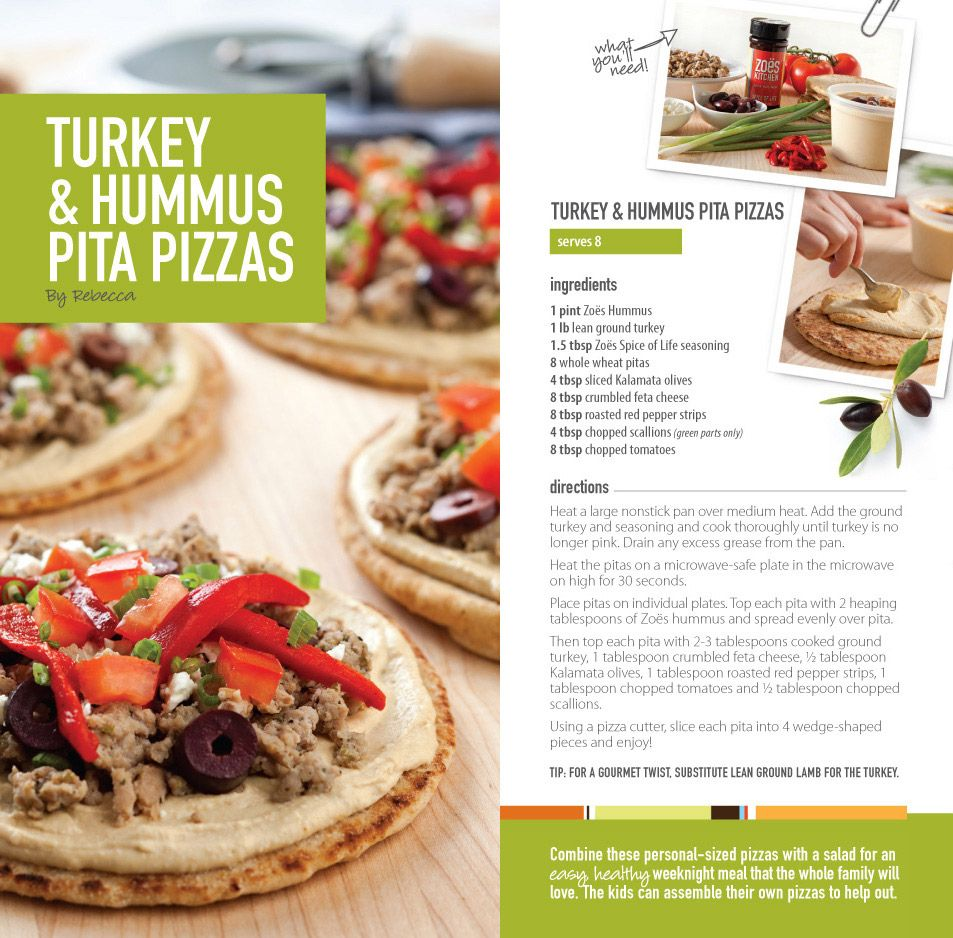 Zo S Kitchen Fresh Takes Recipe Turkey And Hummus Pita