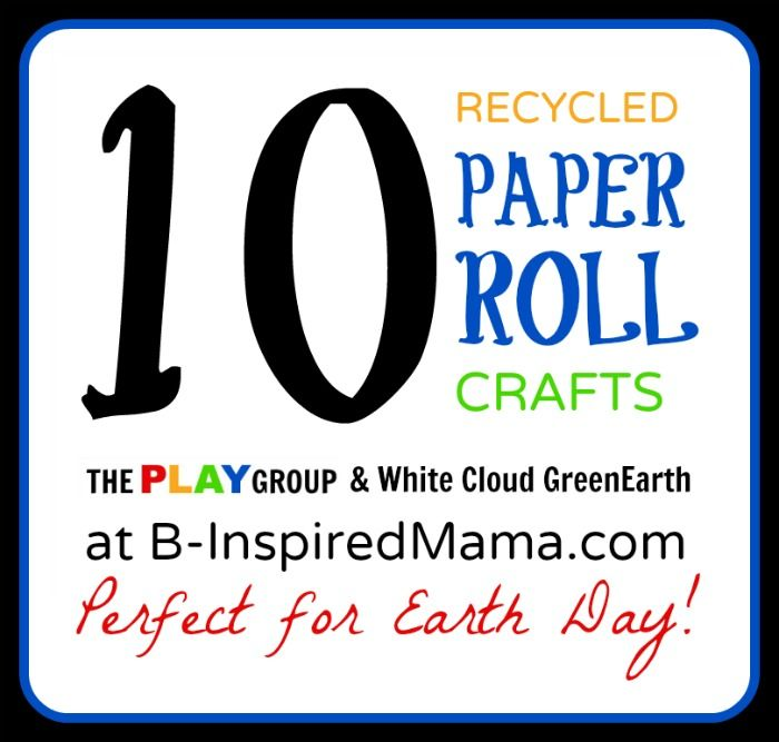 10 Paper Roll Crafts From The Play Group Paper Roll Crafts Craft Activities For Kids Earth Day Crafts